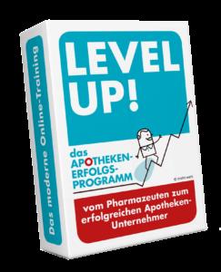 Level Up Mockup freigestellt