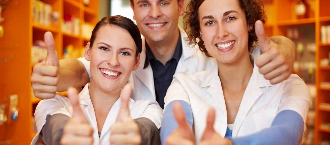 Apotheker-Team: Starke Marke